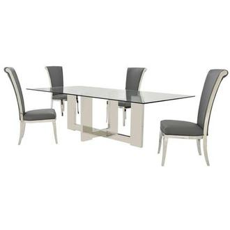 Opus/Joy Gray 5-Piece Dining Set