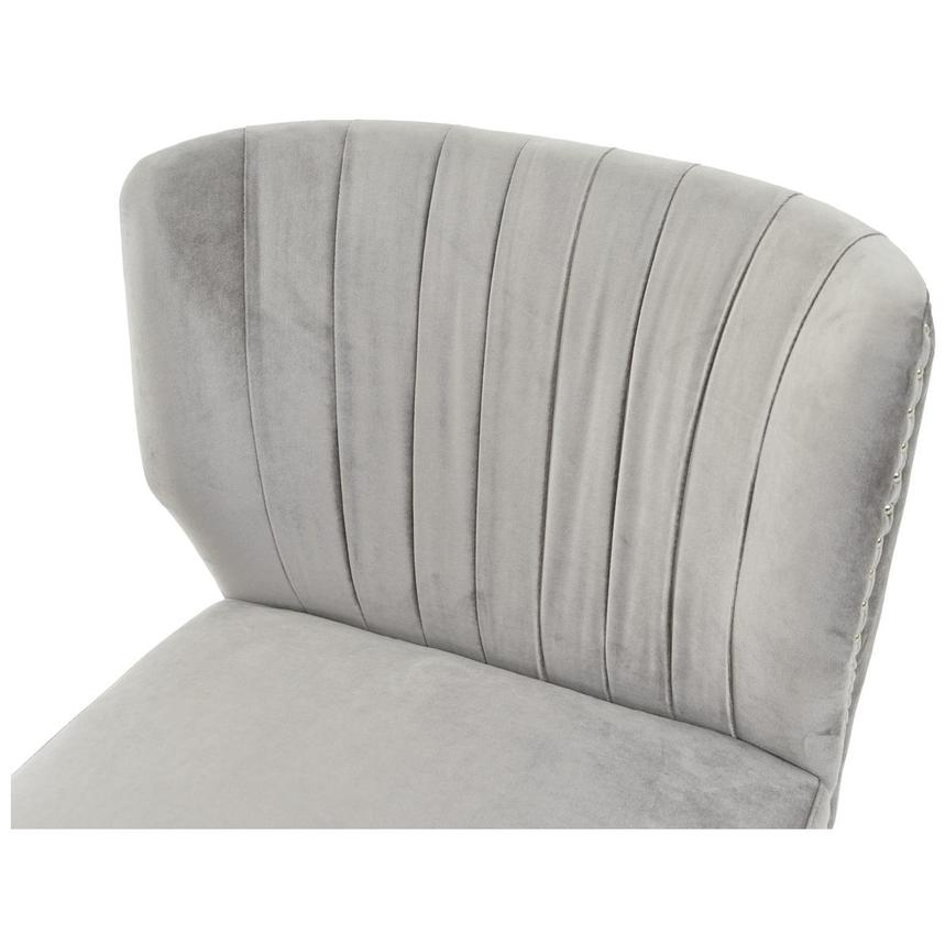 Palermo Gray Accent Chair  alternate image, 5 of 6 images.
