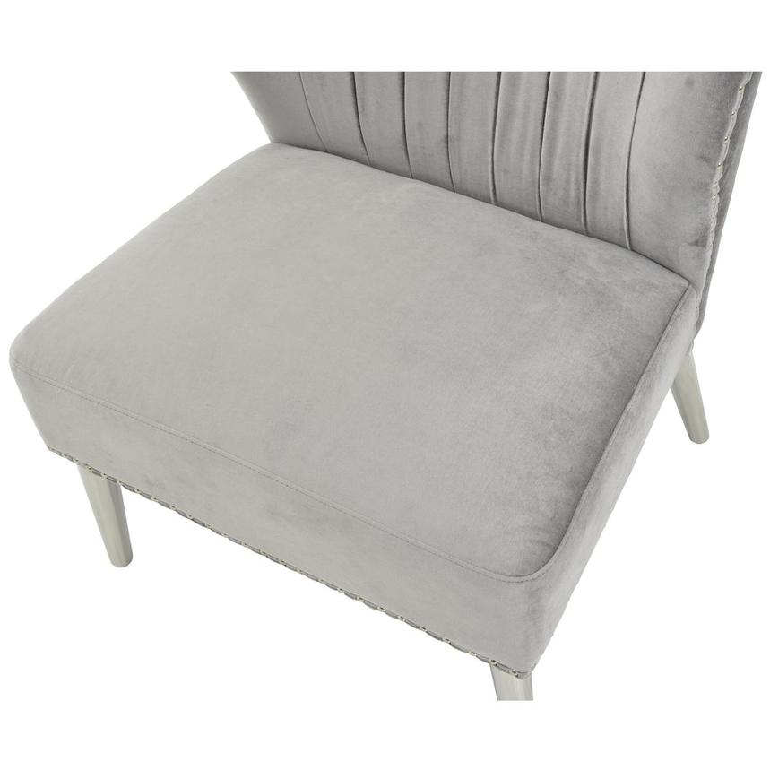 Palermo Gray Accent Chair  alternate image, 6 of 6 images.