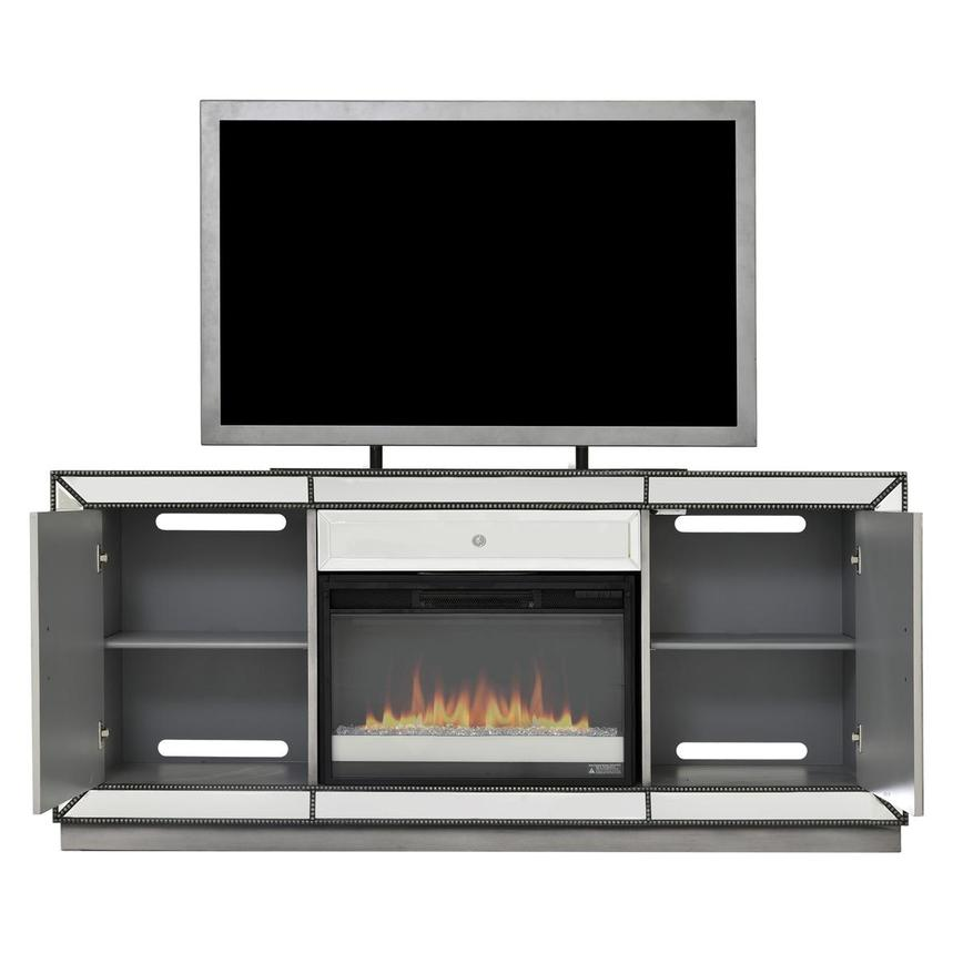 Galena Electric Fireplace w/Remote Control  alternate image, 3 of 7 images.