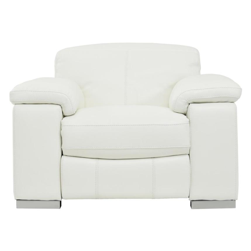 Charlie White Power Motion Leather Recliner  main image, 1 of 7 images.
