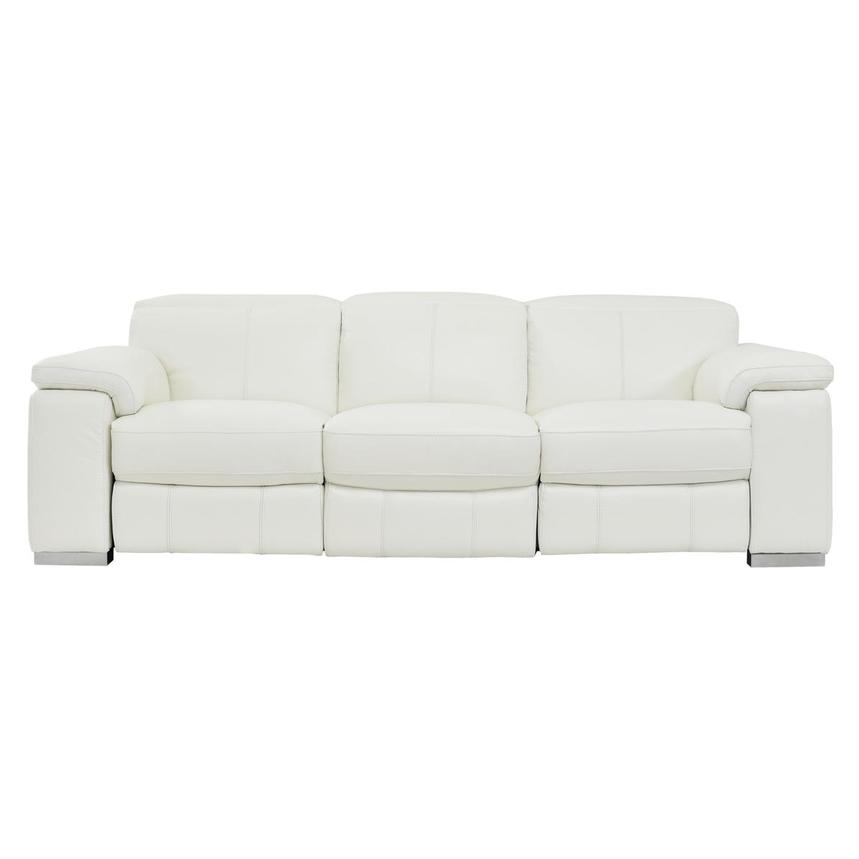 Charlie White Power Motion Leather Sofa  main image, 1 of 7 images.