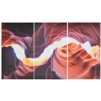 Antelope II Set of 3 Acrylic Wall Art