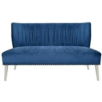 Palermo Blue Settee