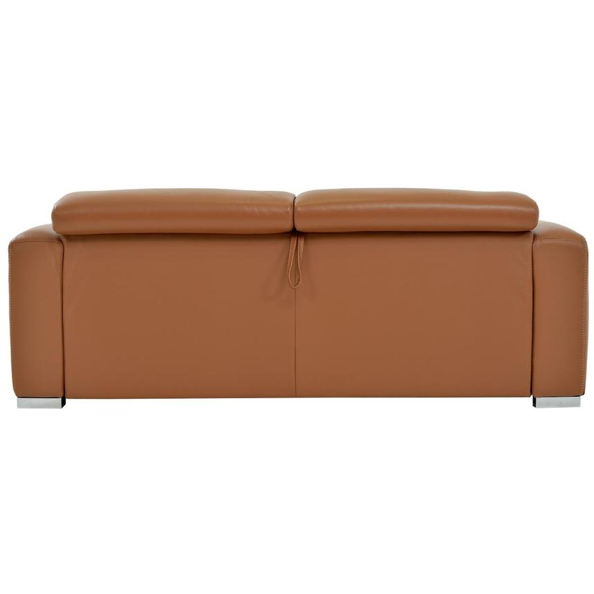 Bay Harbor Tan Leather Sleeper