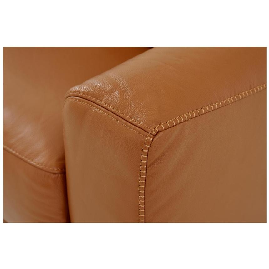 Bay Harbor Tan Leather Sleeper  alternate image, 6 of 6 images.