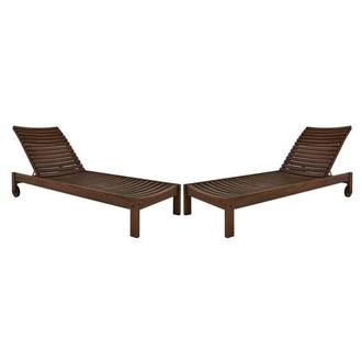 Nina Chaise Lounge Set of 2