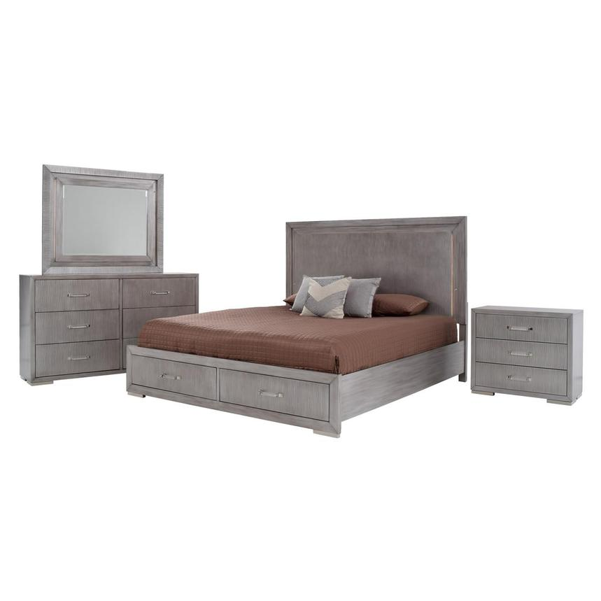 Parker 4-Piece King Bedroom Set  main image, 1 of 6 images.