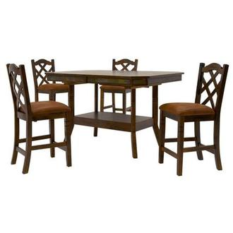 Santa Fe 5-Piece High Dining Set