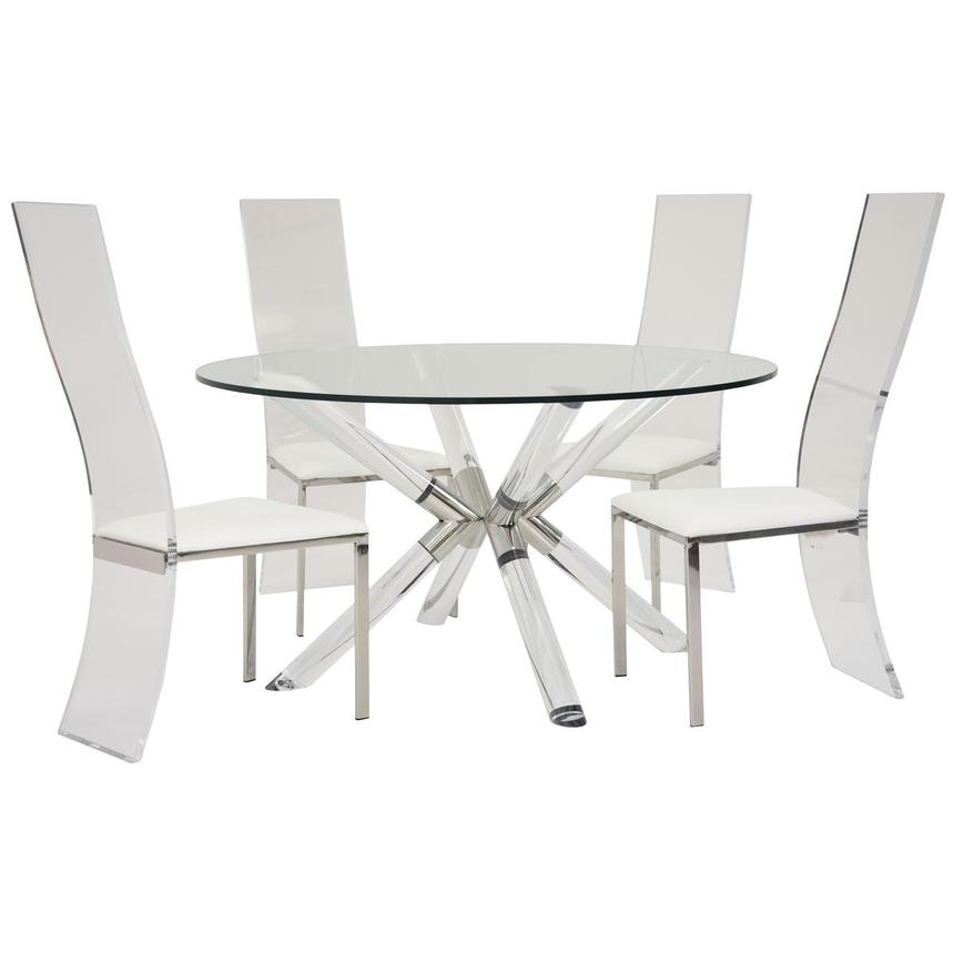 Ace/Layra 5-Piece Formal Dining Set  main image, 1 of 9 images.