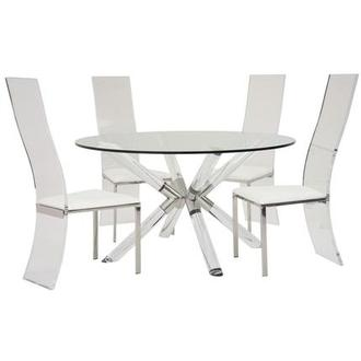 Ace/Layra 5-Piece Formal Dining Set