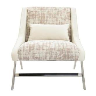 Aliany Cream Accent Chair