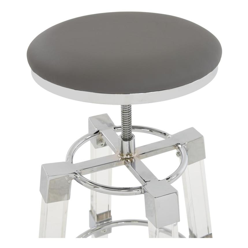 Julie Gray Adjustable Stool  alternate image, 5 of 5 images.
