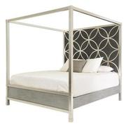 Chic King Canopy Bed  alternate image, 4 of 6 images.