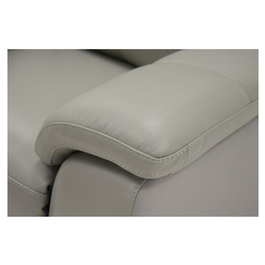 Barry Gray Power Motion Leather Loveseat  alternate image, 6 of 7 images.