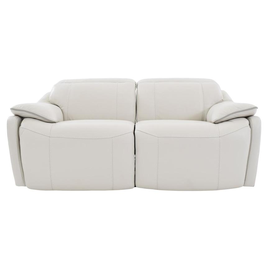 Austin Power Motion Leather Loveseat  main image, 1 of 6 images.