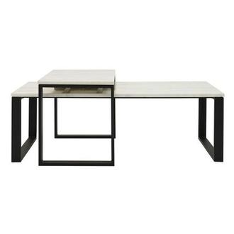 Katrine Marble Coffee Table Set of 2