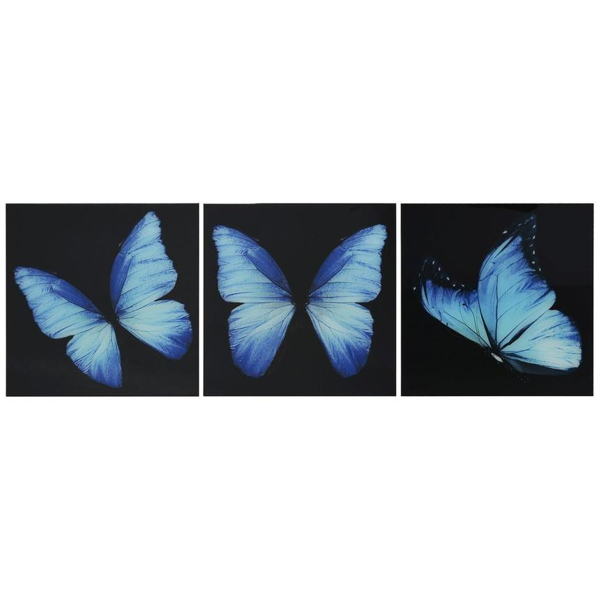 Morpho Set of 3 Acrylic Wall Art  main image, 1 of 5 images.
