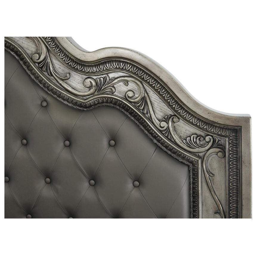 Granada Gray Queen Panel Bed  alternate image, 5 of 6 images.