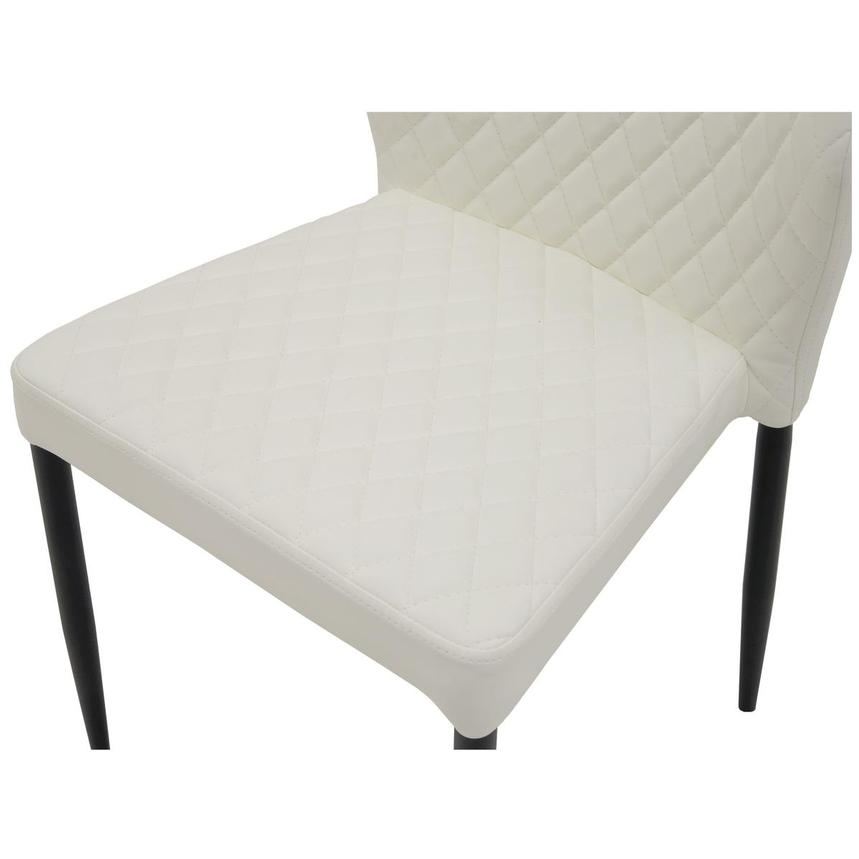 Zari White Side Chair  alternate image, 6 of 6 images.