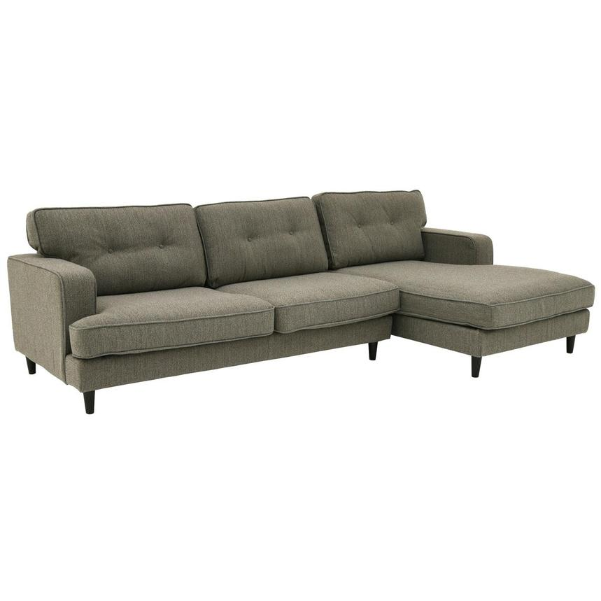 Zenith Sofa w/Right Chaise  main image, 1 of 5 images.