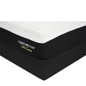 Coral Gables Twin XL Memory Foam Mattress w/Low Foundation by Sealy Posturepedic