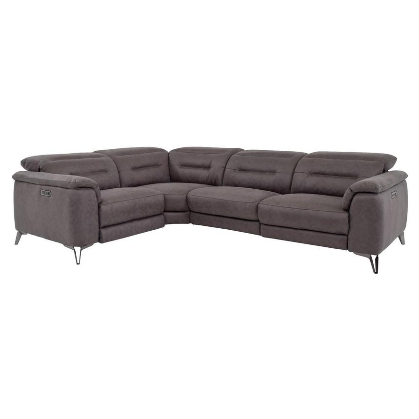 Claribel II Power Motion Sofa w/Right & Left Recliners  main image, 1 of 8 images.