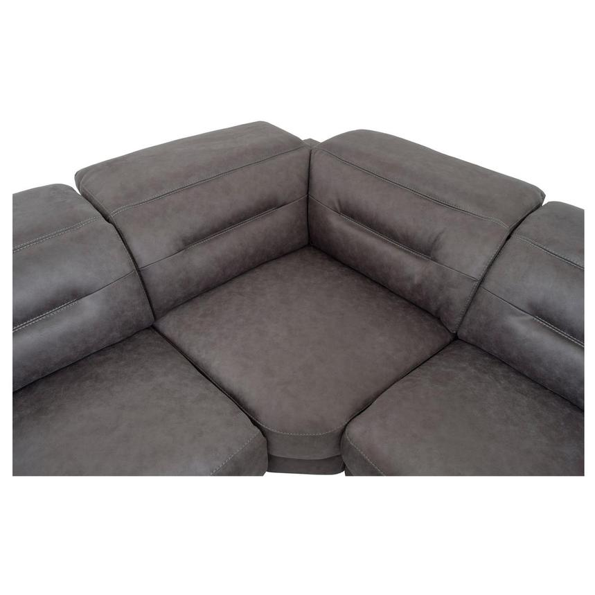 Claribel II Power Motion Sofa w/Right & Left Recliners  alternate image, 5 of 8 images.