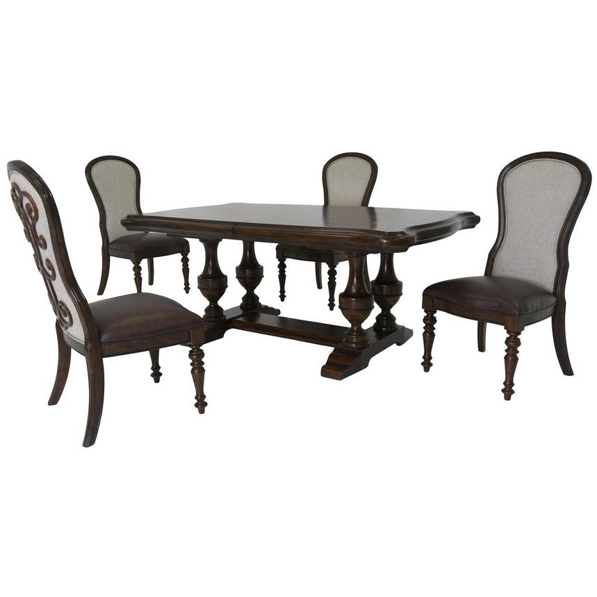 Opulence 5-Piece Formal Dining Set  main image, 1 of 17 images.