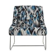 Tutti Frutti Blue Accent Chair  main image, 1 of 8 images.
