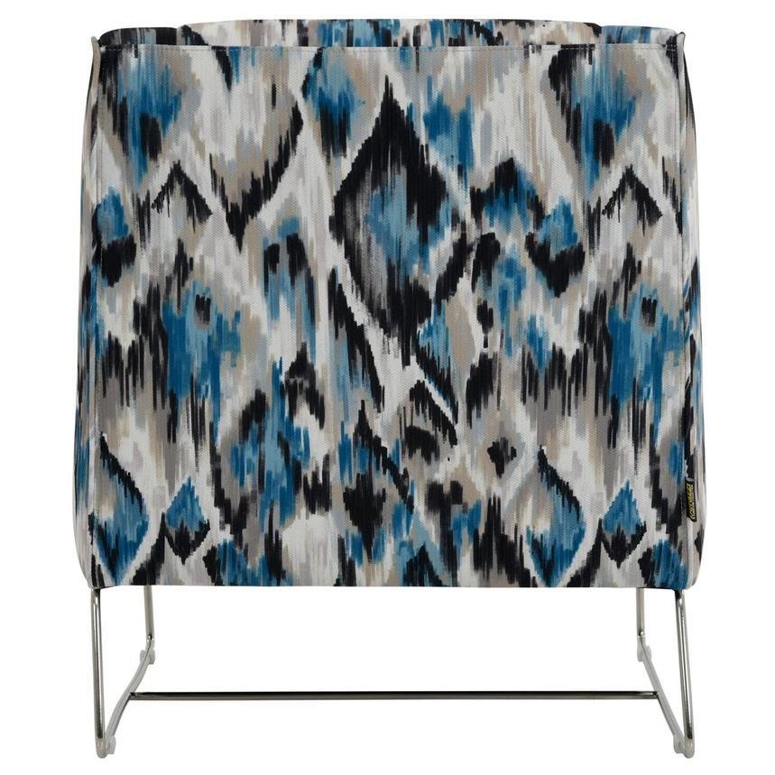 Tutti Frutti Blue Accent Chair w/2 Pillows  alternate image, 5 of 10 images.