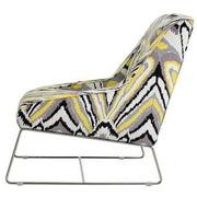 Tutti Frutti Yellow Accent Chair  alternate image, 3 of 7 images.