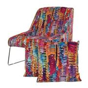 Tutti Frutti Multi Accent Chair w/2 Pillows  main image, 1 of 10 images.
