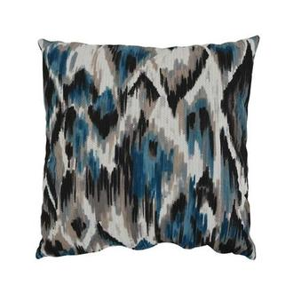 Tutti Frutti Blue Accent Pillow