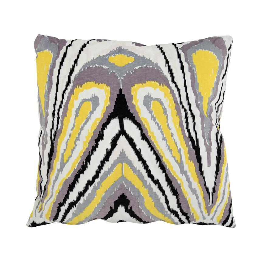 Tutti Frutti Yellow Accent Pillow  main image, 1 of 3 images.