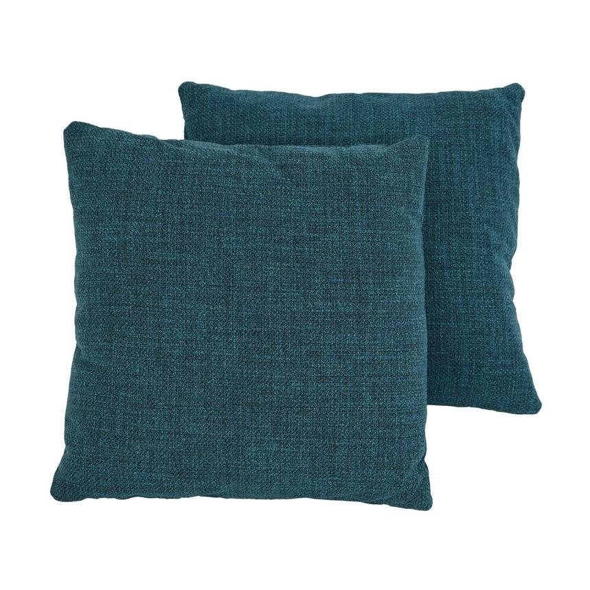 Okru Blue Two Accent Pillows  main image, 1 of 4 images.