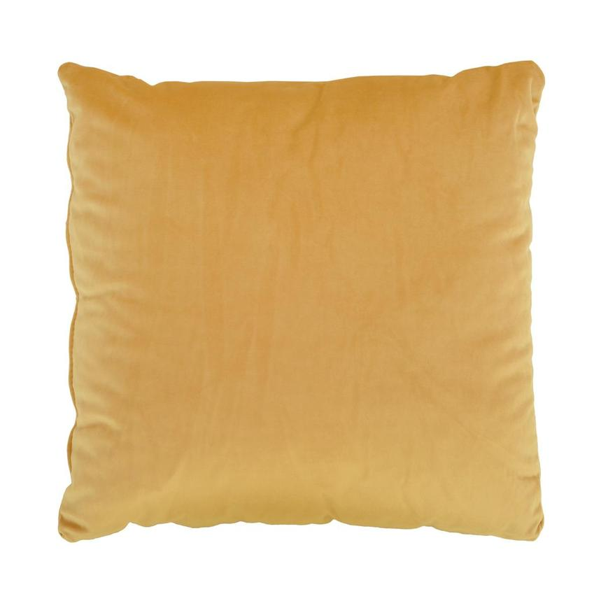 Okru Dark Yellow Accent Pillow  main image, 1 of 3 images.