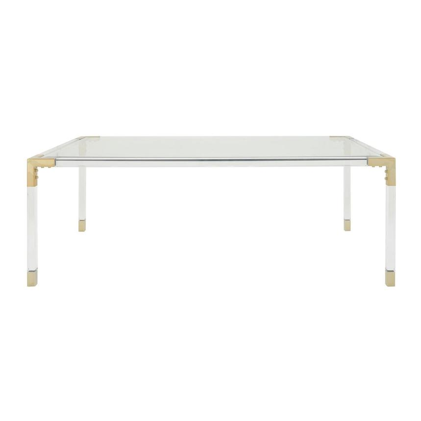 Melani Gold Coffee Table  main image, 1 of 4 images.