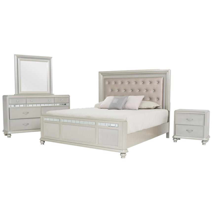 Kaleidoscope 4-Piece Queen Bedroom Set  main image, 1 of 5 images.