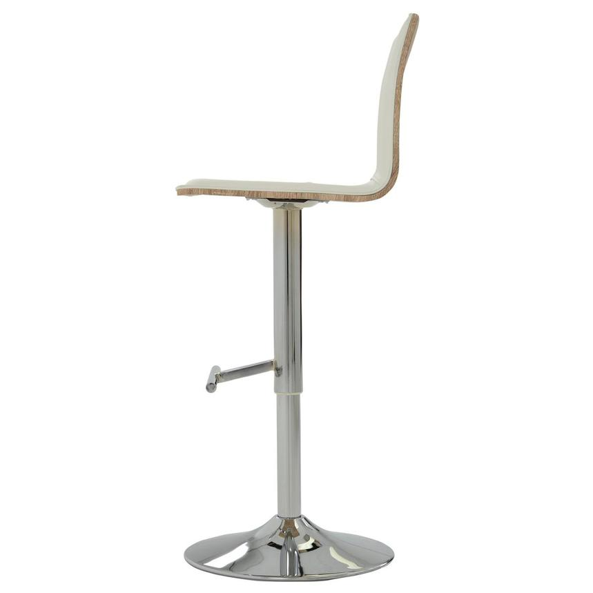 Solimar White Adjustable Stool  alternate image, 4 of 10 images.