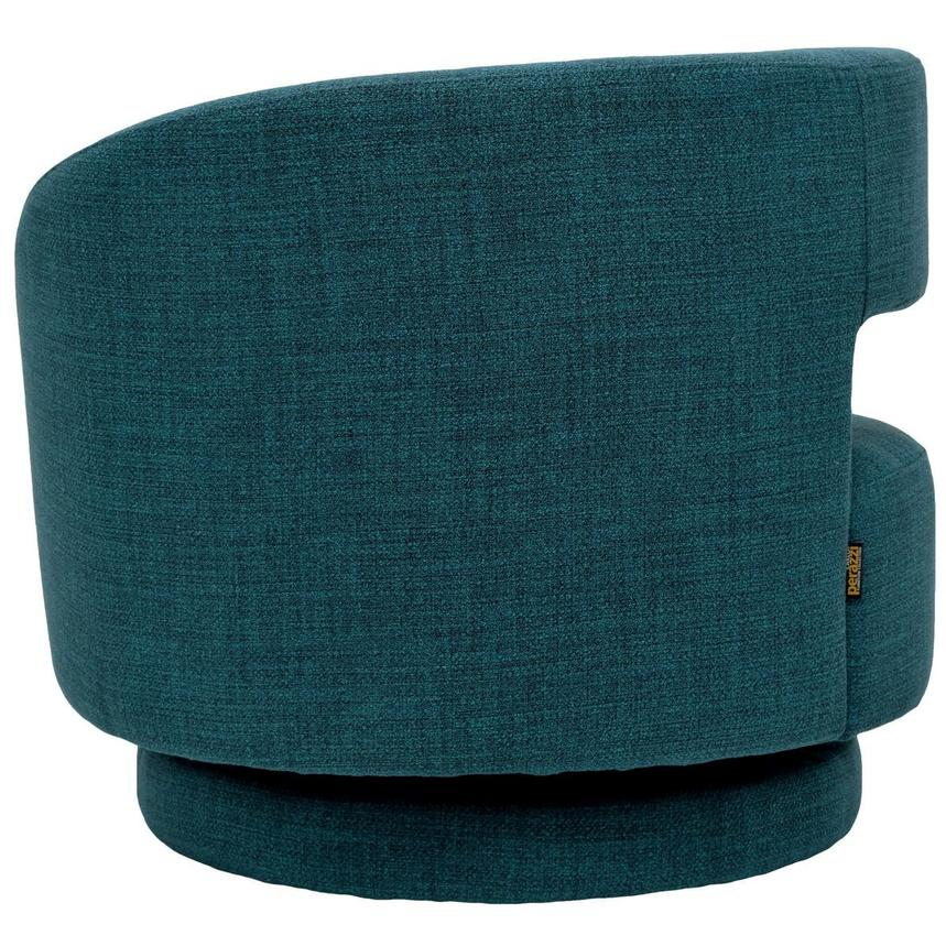 Okru Blue Swivel Chair w/2 Pillows  alternate image, 5 of 10 images.