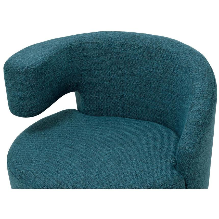 Okru Blue Swivel Chair w/2 Pillows  alternate image, 6 of 10 images.