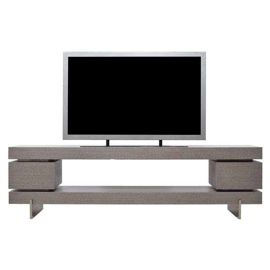 Darius Gray Large TV Stand  main image, 1 of 8 images.