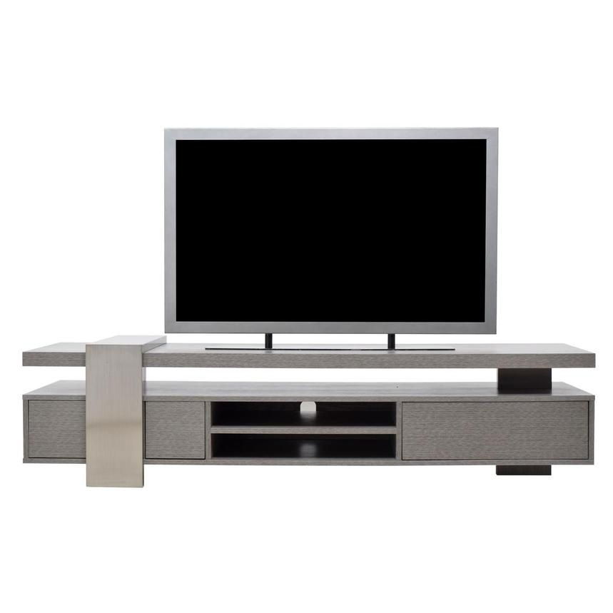 Totem Gray TV Stand  main image, 1 of 8 images.