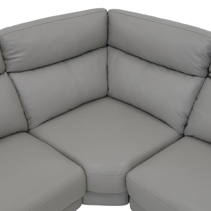 Barry Gray Leather Power Reclining Sectional  alternate image, 10 of 11 images.