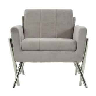 Juliet Gray Accent Chair