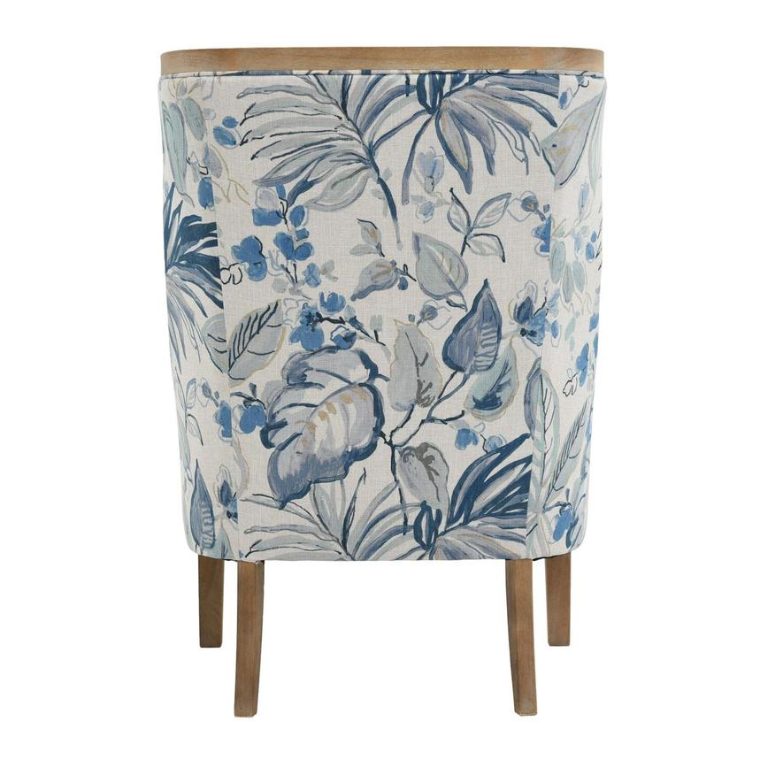 Scarlett Blue Accent Chair w/2 Pillows  alternate image, 6 of 12 images.