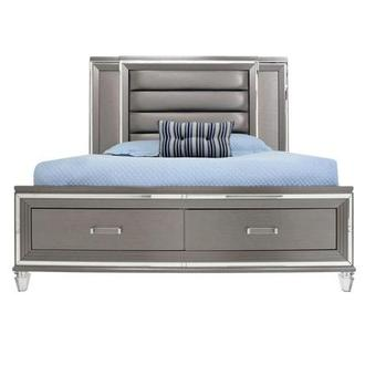 Stephanie Queen Storage Bed
