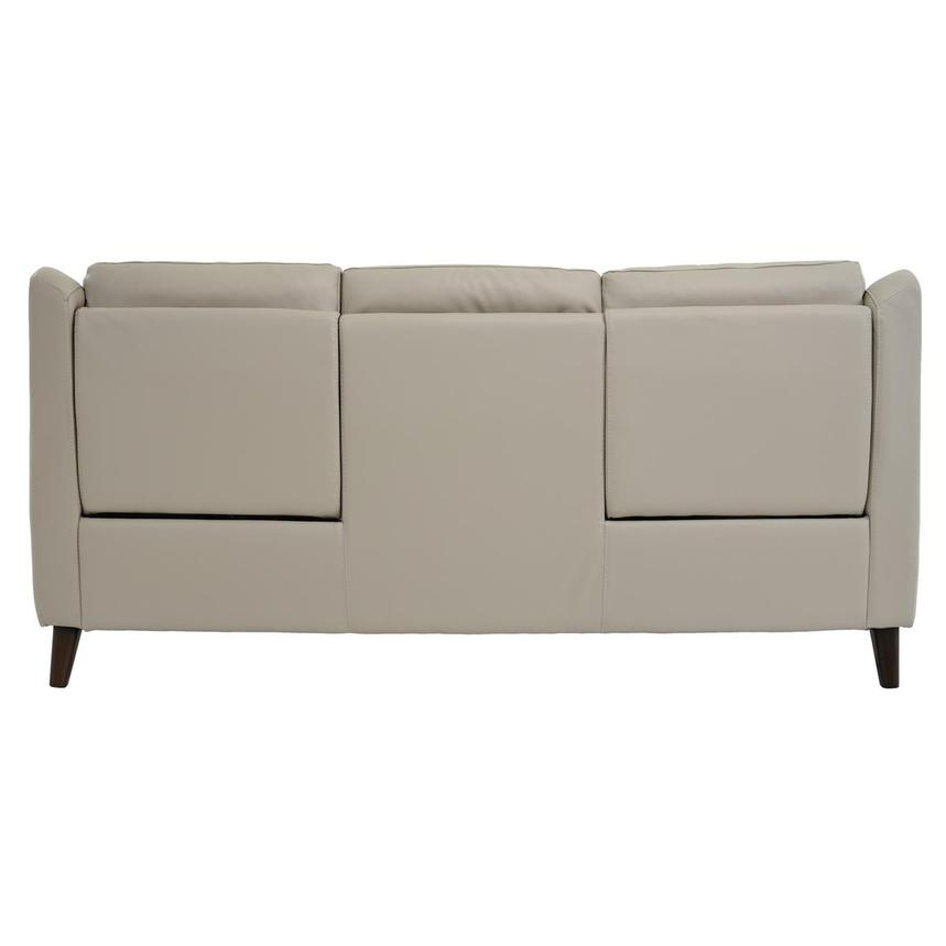 Mayte Cream Power Motion Leather Sofa  alternate image, 5 of 7 images.