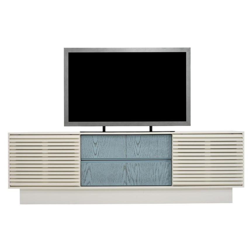 Lala White TV Stand  main image, 1 of 10 images.